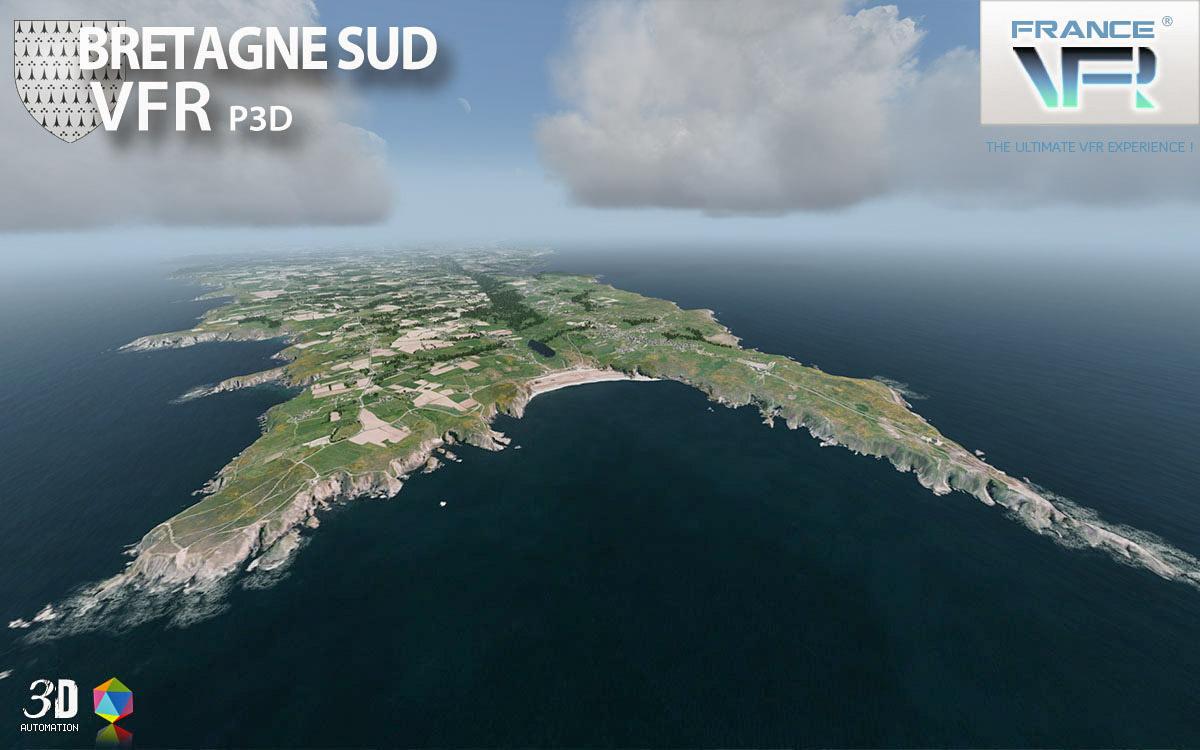 France VFR - VFR Photoreal scenery for Lockheed Martin Prepar3D and