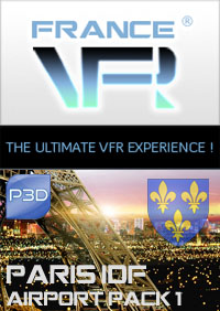 Paris - Ile de France VFR - Airport Pack Vol.1 pour P3D