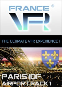Paris - Ile de France VFR - Airport Pack Vol.1 pour FSX