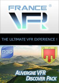 VFR Discover Pack Auvergne pour P3D
