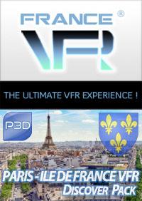 Discover Pack Ile de France pour P3D