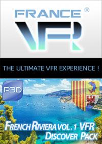 Discover Pack Provence Alpes Cote d'Azur Vol.1 (Est) pour P3D