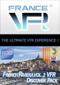 Discover Pack Provence Alpes Cote d'Azur Vol.2 (Ouest) pour P3D