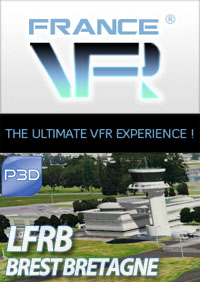 LFRB - Brest Bretagne pour P3D
