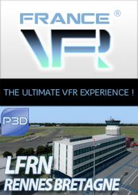 LFRN - Rennes Bretagne pour P3D