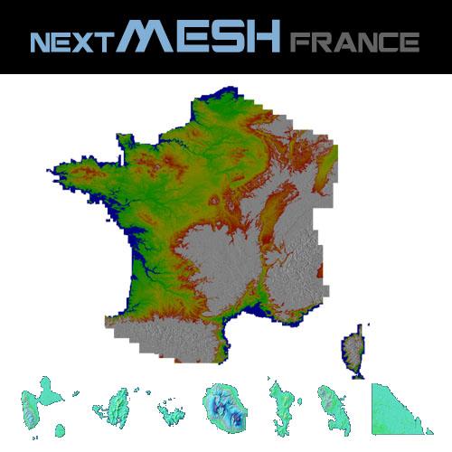 Couverture Next Mesh France P3D