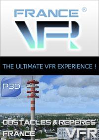 Obstacles et reperes VFR V3 - FRANCE  pour P3D