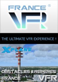 Obstacles et repères VFR – FRANCE pour X-Plane