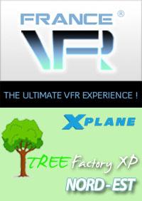 Tree Factory Nord-Est pour X-Plane