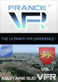 Aquitaine VFR Vol.1 (sud) pour P3D