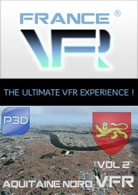 Aquitaine VFR Vol.2 (nord) pour P3D
