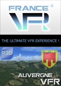 Auvergne VFR pour P3D