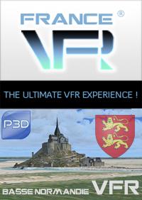 Basse Normandie VFR pour P3D