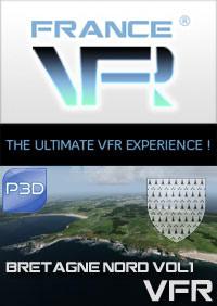 Bretagne VFR Vol.1 (nord) pour P3D