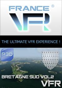 Bretagne VFR Vol.2 (sud) pour P3D