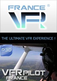 VFR Pilot - FRANCE pour P3D 64bits