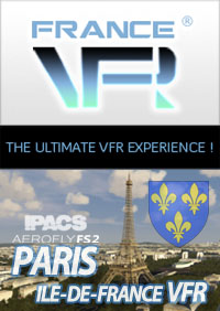 Paris - Ile de France VFR pour AFS 2