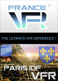 Paris - Ile de France VFR pour P3D