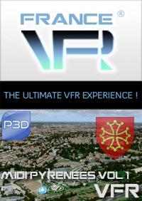 Midi-Pyrenees VFR Vol.1 (nord-est) pour P3D