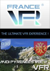 Midi-Pyrenees VFR Vol.2 (sud-ouest) pour P3D