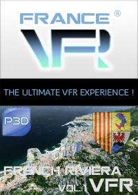 Provence-Alpes-cote d'azur Vol.1 VFR (est) pour P3D