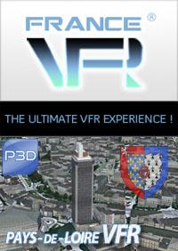 Pays de Loire VFR pour P3D