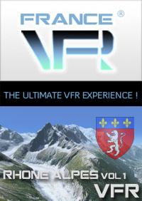 Rhone-Alpes VFR Vol.1 (nord) pour FSX