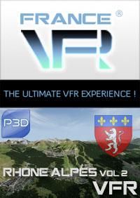 Rhone-Alpes VFR Sud Vol.2 pour P3Dv4